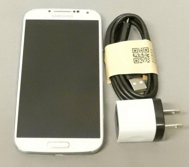 Samsung Galaxy S4 SCH-I545 White 16GB (Verizon) Smartphone (Locked) ESN Clean