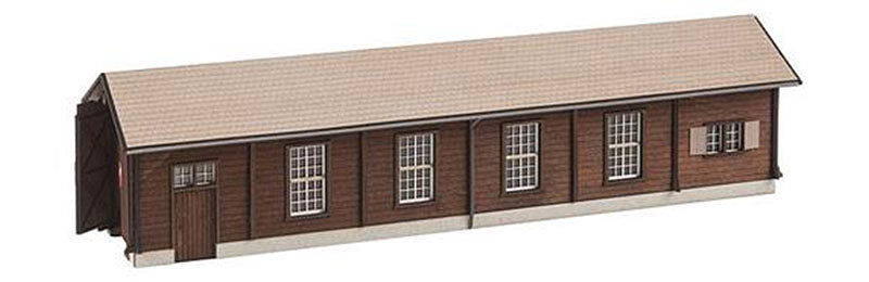 FALLER Single Road Engine Shed Model Kit II HO Gauge 120279