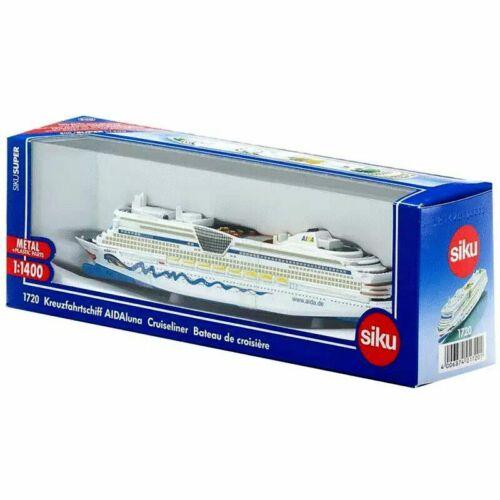 New 1//1400 SIKU 1720 Aida luna Cruiser Cruiseliner Diecast Ship Model Toys Gifts
