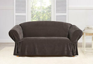 Sure Fit Everyday Chenille Sofa Slipcover Box Style