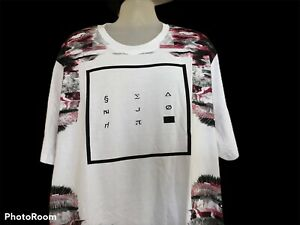 Sean John Mens Tiger Emboidery Short Sleeve Sweatshirt