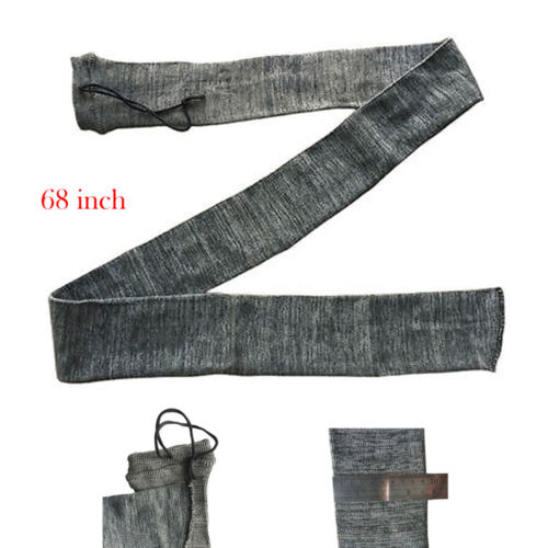 """68/"""" Archery Longbow Sock Knitted Fabric Long Bow Storage Bags Cases /& Covers"""