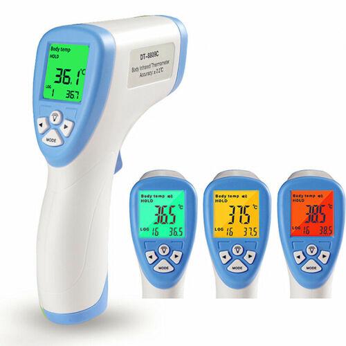Thermomètre Numériqu Infrarouge Bébé Adulte 0 Contact Retroéclairage Gros Détail