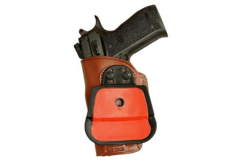 """Sar K2-45 4.7/"""" BBL #1090# Premium Leather OWB Paddle Holster With Open Top Fits"""