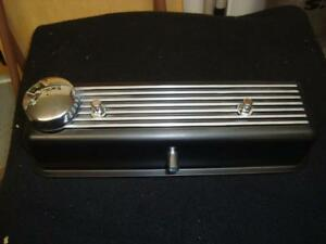 New Black Finish Alloy Valve Cover for MG Midget 1500 Triumph Spitfire W Gasket