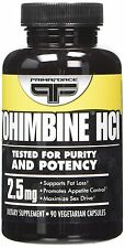 YOHIMBIE HCI 2.5 mg -Sex Pills, Male Sexual Enhancer, Semen, Cum, Sperm, Libido