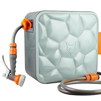 20m Premium Schlauchaufroller Wasserschlauchaufroller Wasser Garten-Schlauch