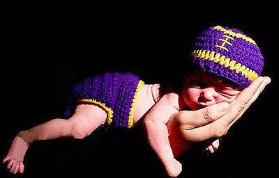 Baby Girls Boy Newborn-24M Knit Crochet Costume Photo Prop Hat Cap Outfits Set