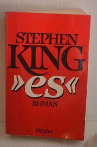 RARE-Stephen-King-ES-Roman-IT-Novel-Paperback-Book-in-German