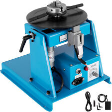Us 110v Rotary Welding Positioner Turntable Table 25 3 Jaw Lathe Chuck 2 20rpm