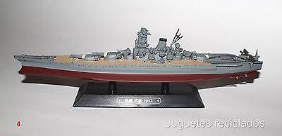 MUSASHI BARCO DE METAL 20-25 CMS Japanese WWII Battleship boat