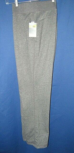 Tek Gear Women's XXL Ultrasoft Stretch Mid Rise Fleece Lined Heather Gray Pants