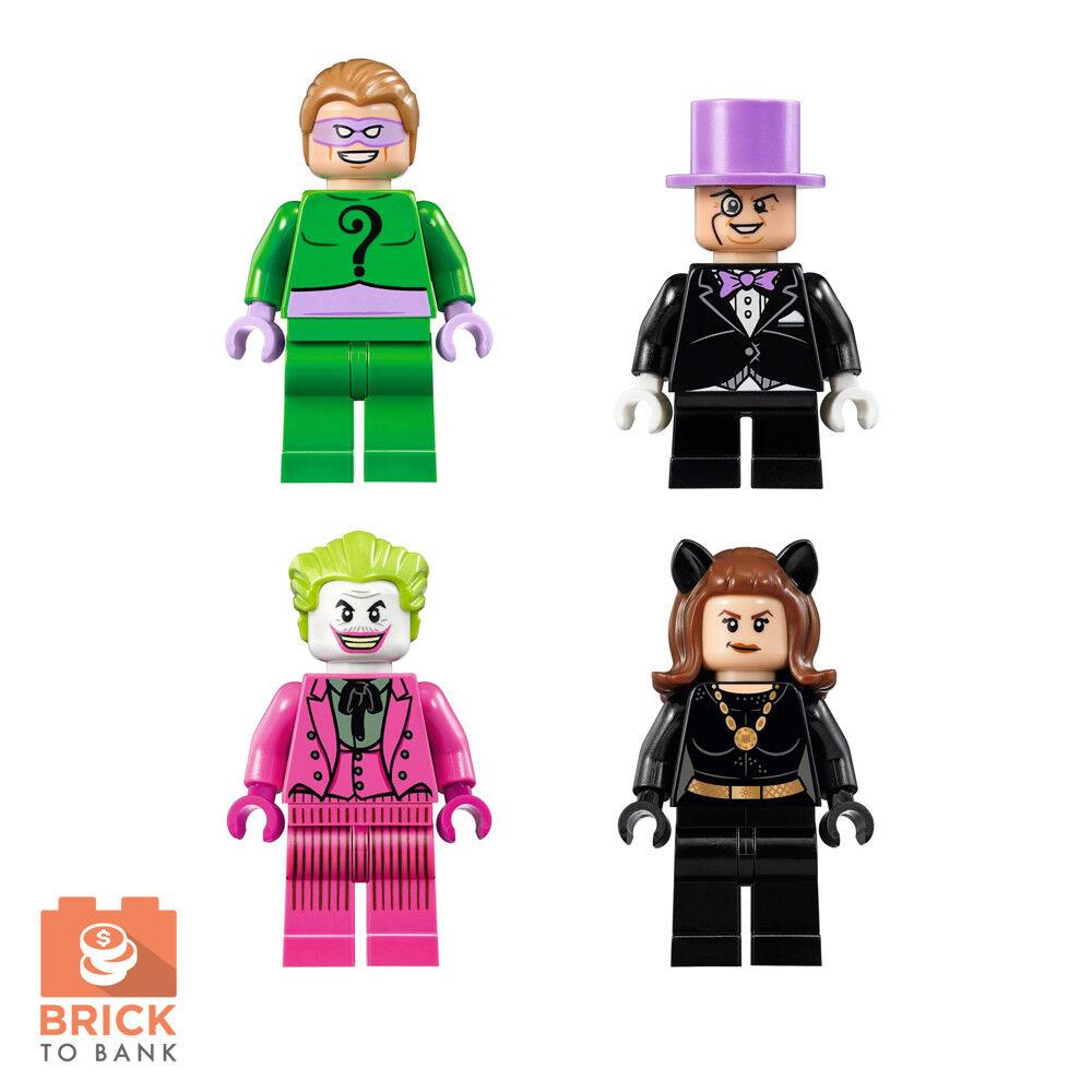 LEGO 76052 Batman Classic Batcave - VILLAINS Riddler Joker Penguin Minifigure