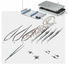 Hand Surgery Basic Set Of Micro Surgical Instruments Best Quality A