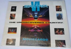 Collectible-Star-Trek-VI-11X18-Movie-Posters-8-Actual-Movie-Images-Frame-Ready