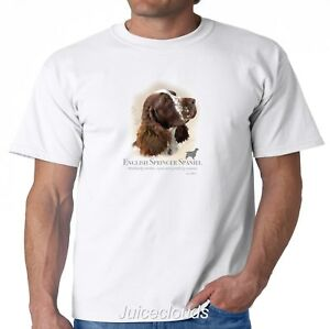 English Springer Spaniel T-Shirt Puppy Pet Rescue Dog Owner