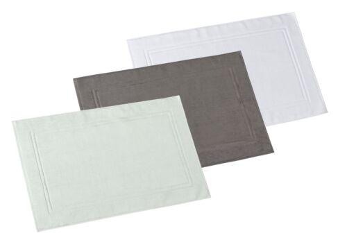 2er Set P.K Collection Business Badvorleger 1500g//m²  100/% Baumwolle