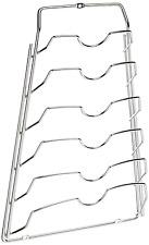 Convenient Over Door Cabinet Kitchen Pot Pan Lid Rack Holder Organizer Storage