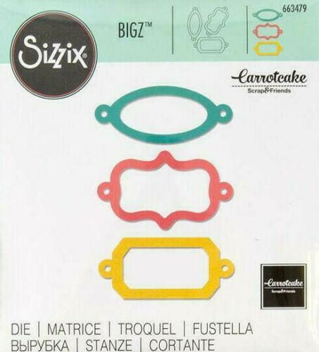 Ornamental Bookplates 663479 Sizzix Bigz Die