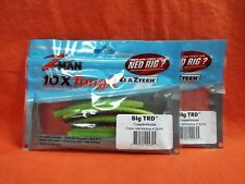 "Z-MAN 5/"" FATTY Z 6 cnt//12 tl 2 pk #FAT5-268PK6 CALIFORNIA CRAW"