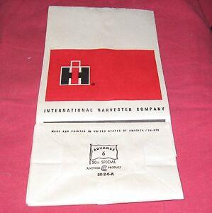 Original-International-Harvester-Parts-Bag-Total-of-10-IH-IHC-Farmall-Tractor