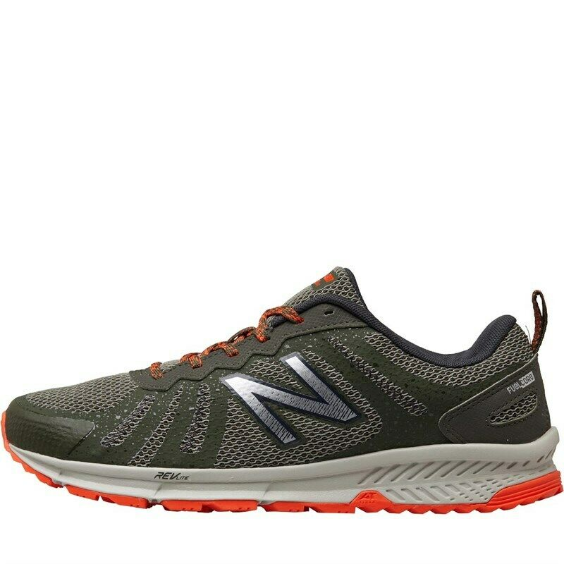 New Balance Mens MT590 V4 Trail Running shoes Khaki orange Trainers