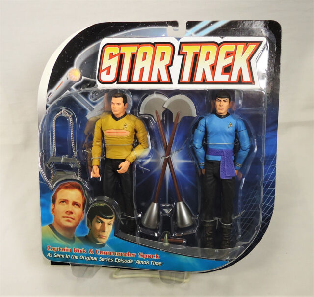 Star Trek Amok Time Kirk & Spock action figure