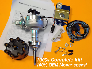 For-MOPAR-318-340-360-HiPo-Electronic-Ignition-Kit-OEM-Factory-Spec-Plymo-Dodge