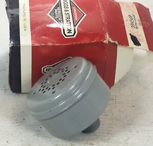 BRIGGS-amp-STRATTON-EXHAUST-MUFFLER-P-N-394569-NEW-OLD-STOCK-OEM-PART
