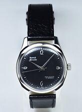 Rare HMT Janata | Black Dial | Silver Ink  | 17 Jewels | Mechanical Watch