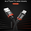 Baseus For Apple iPhone 8 Plus 7 6S USB Charger Cable Charging Data SYNC Cord