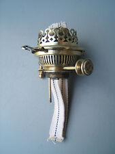 Oil lamp Hink's Duplex no2 key lift bayonet polished burner cork gasket Hinks4
