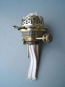 Oil-lamp-Hink-039-s-Duplex-no2-key-lift-bayonet-polished-burner-cork-gasket-Hinks4