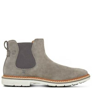 Details about NIB Timberland Men's Naples Trail Chelsea Boot Grey Graphite TB0A1PD6