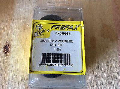 PROFAX PX089984 .068 .072 V KNURLED DRIVE ROLL KIT