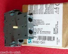 New Siemens 3RH2921-1DA11 Auxiliary Switch Block, 1S+1O/1NO+1NC