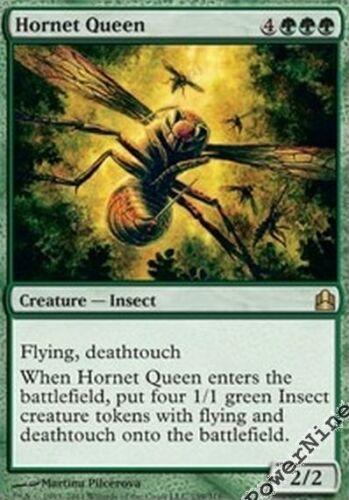 1 PreCon PLAYED Hornet Queen Green C11 Commander 2011 Mtg Magic Rare 1x x1