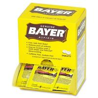 Acme United Bayer Aspirin Packets 2 Tablets Per Pack 50/bx 12408 on sale