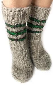 Winter-Socks-Sheepskin-Sheep-Wool-Soft-Fuzzy-Warming-Knitted-Super-Warm-Natural