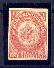 Newfoundland-1862-Couronne royale ed fleurs héraldiques- Gravés