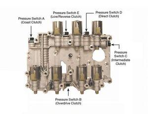 1 one ford 5r110w transmission valve body pressure switch end plug rh ebay com