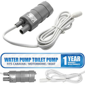 Motorhome-Camper-Caravan-Submersible-Water-Pump-Comet-Elegant-12V-10-L-min-UK