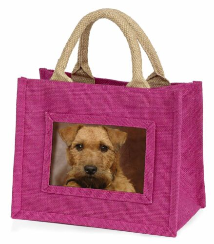 Lakeland Terrier Dog Little Girls Small Pink Shopping Bag Christmas G, ADLT2BMP