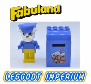 LEGO-Fabuland-Boris-Bulldog-Vintage-Rare-Complete-Set-3603-Minifig-FREE-POST