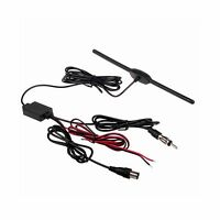 Hitcar In Car Tv Radio Antenna Signal Amplifier Signal Booster ... Free Shipping