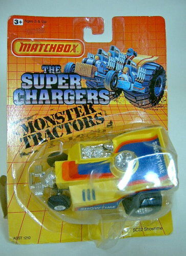 MATCHBOX  the super Chargers  sc-22 showtime