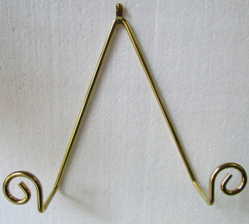 """10/"""" in Diameter Bard/'s Wall Mountable Curled Plate Hanger for plates 8/"""""""