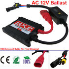 Replacement AC 55W Xenon HID SLIM Digital BALLAST 12V For H1 H3 H4 H7 H8 H9 9005