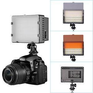 Neewer Détails 650d Afficher Del D'origine Caméra Caméscope Sur Photo Lumière 7d 5d Cn 216 350d Pour Titre Le Vidéo Lampe PXwkO0N8n