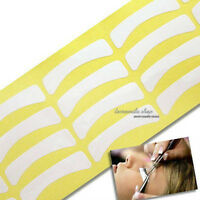 White 100 X Under Paper Tape Eyelash False Eye Lashes Extensions Tool